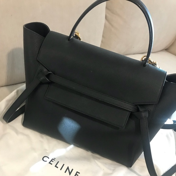 Celine Bags   Grained Calfskin Mini Belt Bag   Poshmark 5166efbd16
